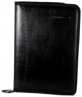 Aahum Sales Faux Leather Black Classic File Folder