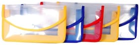 Aahum Sales Polypropylene Document Case Set of 5