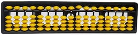 Abacus Instrument , Abacus Tool for Students( Assorted Colors ) ( Set of 1)