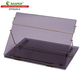 Rasper Smoke Acrylic Writing Desk Acrylic Table Top Elevator (STANDARD SIZE 21x15 inch) Premium Quality 8MM