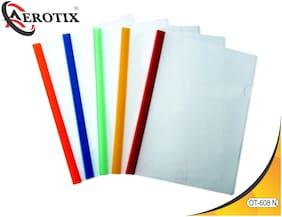 Aerotix Stick File Natural Clear Transparent A4