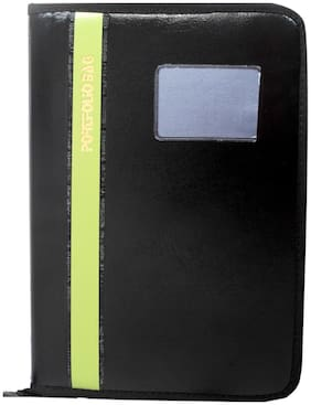 Ananda Collections Port Executive Document File With Multiple Strips Bold Line (Assorted Strips)