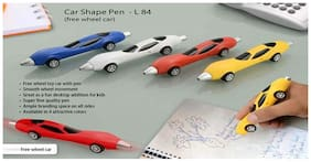Anmol Car Shape Ball Pen L84 (Set Of 4)