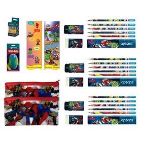 Apsara Exclusive Shopee Avengers Mega Super Saver Kit (Apsara Duo Grip Eraser and Apsara Space Ball Sharpener)