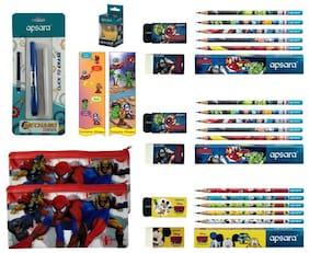 Apsara Exclusive Shopee Avengers Mega Super Saver Kit (Apsara Mechano Eraser and Apsara Space Ball Sharpener)