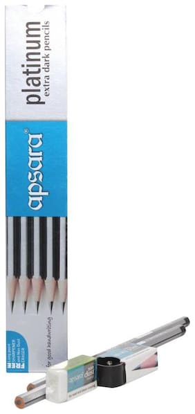 Apsara Platinum Extra Dark Pencils - (Pack Of 40)