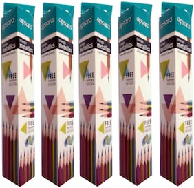 APSARA TRIANGLE METALLICS EXTRA DARK PENCILS
