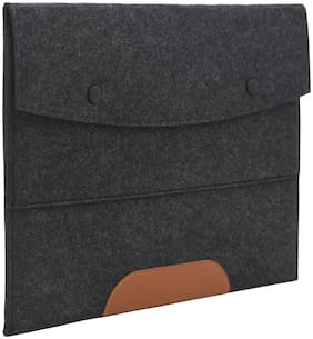 AQUADOR Professional Dark Grey Files & Folder Bag for Certificates & Documents