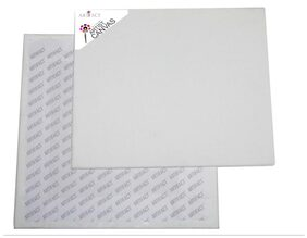 Artifact Cotton Medium Grain Canvas Board 5x7(Set of 6)