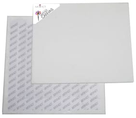 Artifact Cotton Medium Grain Canvas Board 10x10(Set of 2)