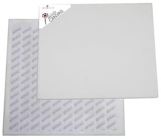 Artifact Cotton Medium Grain Canvas Board 10x10(Set of 2)