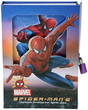 Asera Spiderman Lock Diary for Boys Gifts Options
