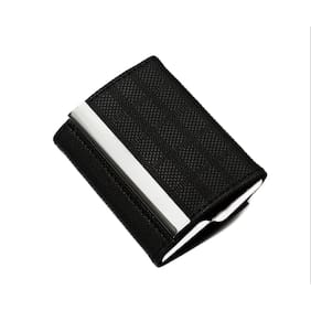 Card holders buy leather visiting wallet atm business card atm visiting id card holder wallet black elegant two side open case reheart Choice Image