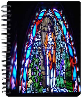 Aurra Church Spiral A5 Notebook