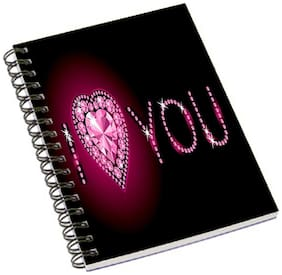 Aurra I Love U Notebook
