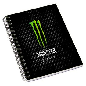 Aurra Monster Notebook (Pack Of 5)
