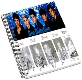 Aurra One Direction Sighnature Notebook