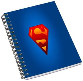 Aurra Superman Logo4 Notebook(Free Laptop Skin)