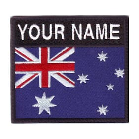 Australia Personalized Badge Embroidered Patch