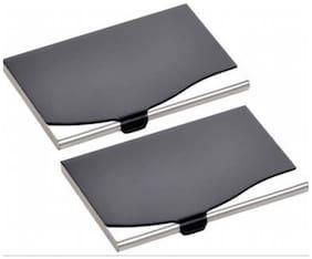 AV Enterprises Black Steel Card Holder