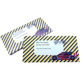 Baby Oodles Multicolor Paper Racer Strip Shagun Envelope For Kids