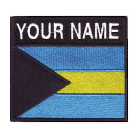 Bahamas Personalized Badge Embroidered Patch