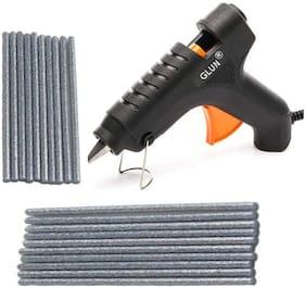 BANDOOK Glue Gun 40W with 20 Silver Glitter Stick(Leak Proof)