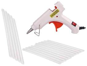Bandook Glue Gun 20W with 15 Hot melt glue gun on/off button and indicator
