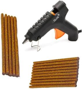 BANDOOK Glue Gun 40W with 15 Golden Glitter Stick(Leak Proof)