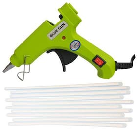 BANDOOK NEON 20W 20WATT WITH 10 TRANSPARENT STICKS Standard Temperature Corded Glue Gun (7 mm)
