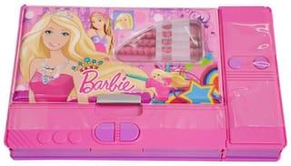 BARBIE Cartoons/Characters Big Kiku Pencil Box Bithday Return Gift for Kids