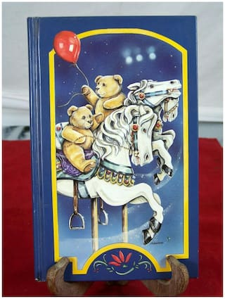 BETWEEN THE PAGES 1992 BEARS ON CAROUSEL HORSES NOTEPAD