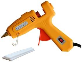 billionBAG Hot Melt DIY Glue Gun kit 60 Watt For Paper & Cloth;School Projects High-Tech Qick Repairs Professional Electronic Crown Standard Temperature Corded Glue Gun