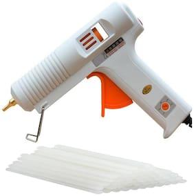 billionBAG Hot Melt DIY Glue Gun kit 150 Watt With 5 Glue Stick For Paper & Cloth;School Projects High-Tech Qick Repairs Professional Electronic Standard Temperature Corded Glue Gun