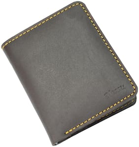 Blessu Genuine Leather Multi Card Holder RFID Protected Brown Colour (Unisex)