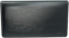 BLESSU New Multiple Cheque Book cum card & document holder black colour