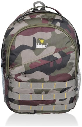 BLUTECH 36 School bag - Green