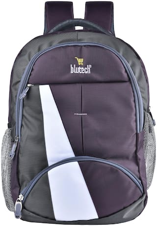 BLUTECH 36 School bag - Purple