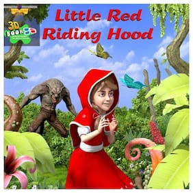 Bluto Little Red Riding Hood 3D Book With 3D Glasses