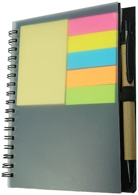 Bluto Memo Notepad / Memo Notebook With Sticky Notes & Pen