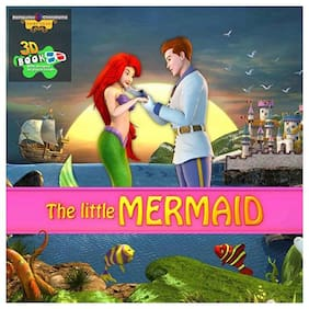 Bluto The Little Mermaid 3D Book With 3D Glasses