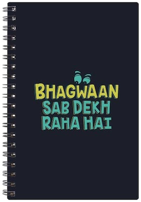 Bluto Trendy Diary A5;80 GSM;192 Pages;single Ruled