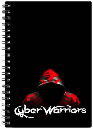 Bluto Cyber Warriors Diary A5;80 GSM;192 Pages;single Ruled