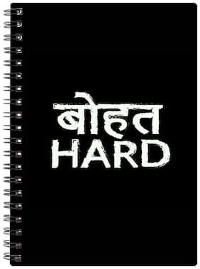 Bluto Bhaut Hard Diary A5;80 GSM;192 Pages;single Ruled
