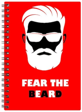 Bluto Fear The Beard Diary A5;80 GSM;192 Pages;single Ruled