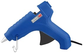 BMS Lifestyle G-01 Hot Melt Glue Gun For Arts & Crafts;Sealing and Quick Repairs in Home & Office With Glue Stick;45-W;Blue