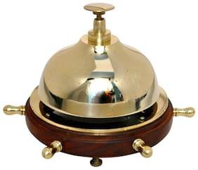 Brass & Wooden Nautical Office Bell