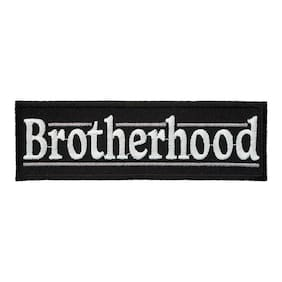 Brotherhood Patch, Biker Sayings Patches
