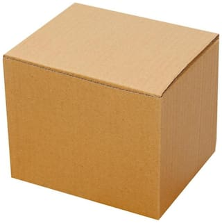 Brown Packaging/Corrugated Boxes 15.24 cm (6 inch) x 12.7 cm (5 inch) x 12.7 cm (5 inch) Pack of 50