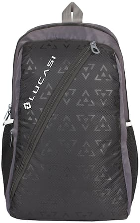 Premium Black School Tuition College Bag 24 Ltr 2 1 Compartments